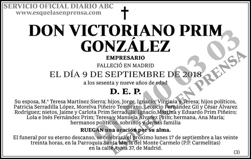 Victoriano Prim González